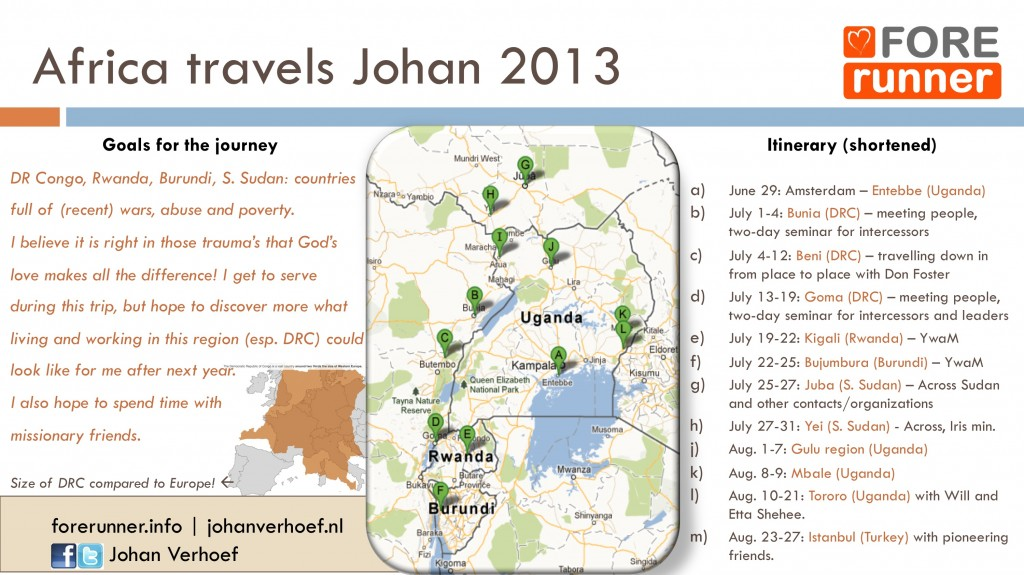 EN Africa itinerary 2013